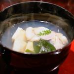 喰善 あべ - 筍と蛤椀