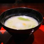 喰善 あべ - 白味噌椀