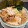 横浜らーめん 山田家  - 料理写真:よくばり豚骨醤油 大盛 チャーシュー増し