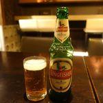 PARAGON - キングフィッシャービール 550円