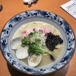 㐂九八 - 鴨とハマグリの中華そば ¥850