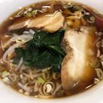 西安刀削麺 - 醤油刀削麺 750円