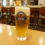 アランチャ - キリンラガービール 450円