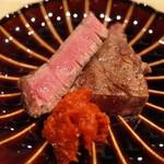 肉 阿久 - ヒレ肉塩焼き
