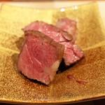 肉 阿久 - ハラミ塩焼き