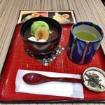 歌舞伎茶屋 - ●冷やしぜんざい600円税込