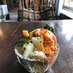 慈雨 - 芸術的な、野菜サラダ(2018.4.23)