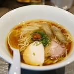 ソラノイロ Japanese soup noodle free style - 生七味旨味出汁ソバ