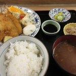 shimmikushi - アジフライ定食