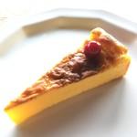 休暇小屋 - パンプキンチーズケーキ(200円)