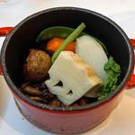レストラン ペタル ドゥ サクラ - 野菜料理(濱の農家さんたち)のココット