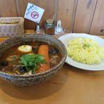 カレー気分 - 料理写真:チキンカレー(5辛、ライス普通、860円)