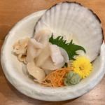 豊丸水産  - 活帆立 ¥630