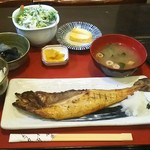 海鮮酒房 おどりや 粋 - ランチ ほっけ定食