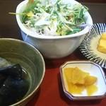 海鮮酒房 おどりや 粋 - 小鉢 (ランチ ほっけ定食)