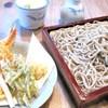 藤芳 - 料理写真:生粉打そば天ぷら付き1700円蕎麦だけは1100円