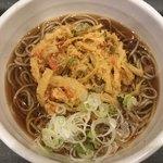 相州蕎麦 - かき揚げ天そば(440円)