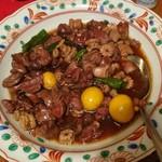 五反田 信濃屋 - 自分の家で作った甲州鶏もつ煮が旨い