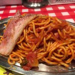 スパゲティーのパンチョ - 「ナポリタン  厚切りベーコン」890円(税込)