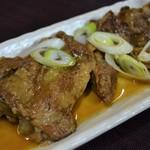 燃やし味噌ラーメン 麺や 武士 - 料理写真:県産 軟骨ソーキの自家製チャーシュー280円