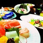 横浜すきずき - お料理コースのメニューは毎月構成