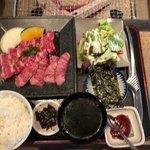 やきにく日和 - 高松定食1500円
