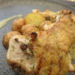 TRATTORIA CREATTA - 岩手県産清流鶏のグリル エピスビネガーのソース