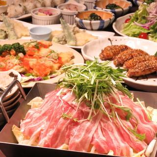 【各種ご宴会におすすめ】名古屋めし&旬の海鮮和食コース
