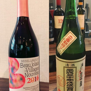 ◆ワインと日本酒◇料理に合う!ドリンクを充実させております○