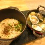 ビストロアム - 筍のご飯 春の鮮魚