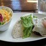 ペパーミント レーン - 料理写真:ロコモコ 1,070円