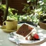 サザ コーヒー - モカ エチオピア チョコレートシフォンケーキ