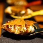 創作鉄板 粉者二焼 - 牡蠣のワンスプーン