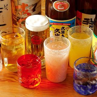沖縄の銘酒『泡盛』を当店流の楽しみ方で♪ドリンク70種以上!