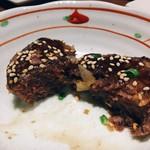 肉菜処和心 - 京都府産鹿肉のつくね
