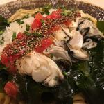 饗 くろ喜 - 広島の老舗「かなわ」の牡蠣とオイスターソース(かき醤)を使用