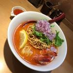 麺匠 喜楽々 - 期間限定 トムヤムラーメン 900円