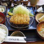 84651214 - 鹿児島【六白黒豚 】ロースかつ定食