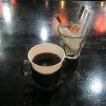 東屋慶名 - 【ランチ】「ホットコーヒー」です。