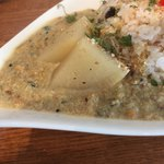 84651767 - あさり出汁の豆カレー