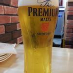 肉バル BEEF KITCHEN STAND - ちょい飲みセットB1,000円から 生ビールはプレミアムモルツ通常399円