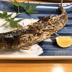 84653045 - 山女魚の炭火塩焼き