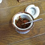 大江戸 - 卓上の辛味