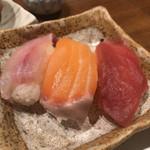 和心庭 一蔵 - 鮨3種