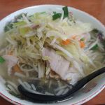 タンメンしゃきしゃき - 野菜たっぷりで優し味!
