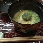 Shizemboutanaka - 白味噌(よもぎ餅と春キャベツ)