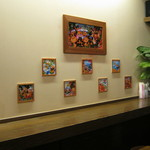 沖縄カップライス専門店 マーケット SS43 - カウンター席です。