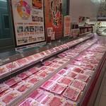 旭食肉共同組合直売所 - 部位はほとんど網羅。