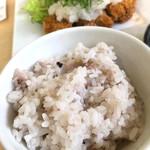 酒菜食房いち - 日替わり定食(ロースカツ)