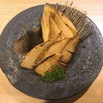 酒処 一 - 料理写真:山梨県産焼たけのこ